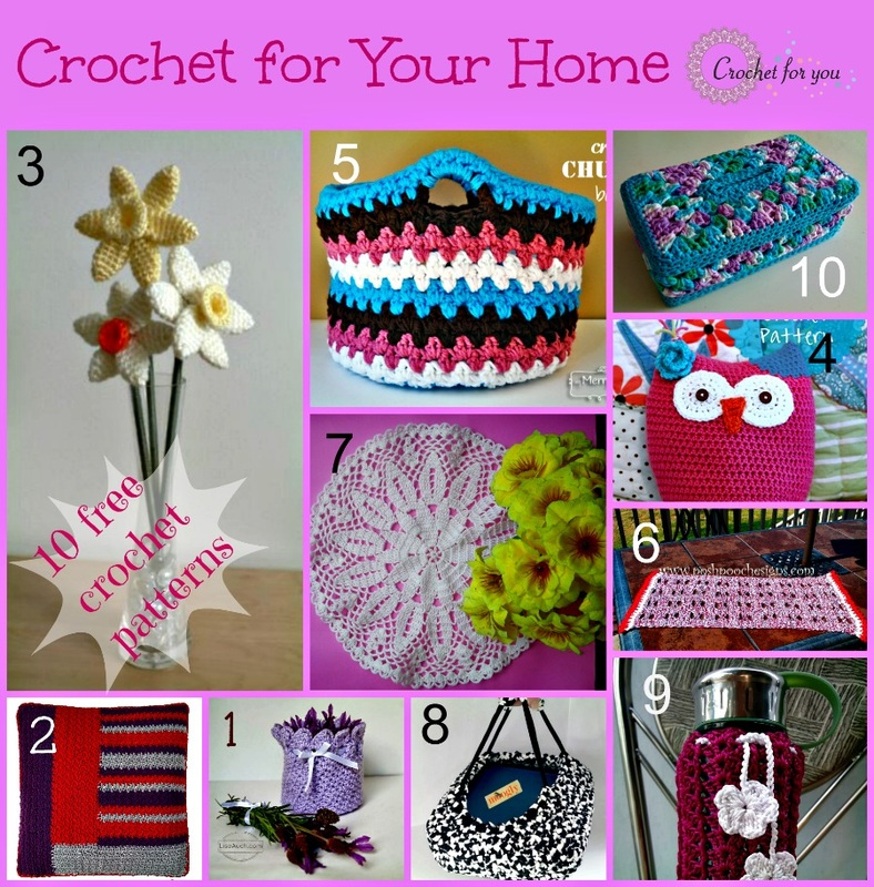 Crochet For You - free patterns and tutorials - crochet for you