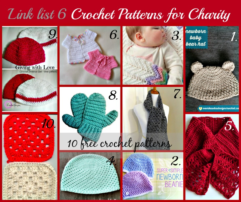 Crochet For Charity : Crochet For You - free patterns and tutorials - crochet for you