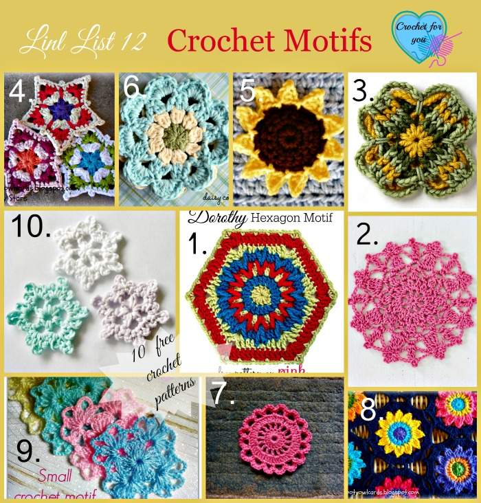 Crochet Motifs Free Patterns Crochet For You