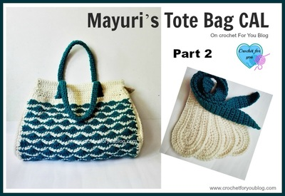 Crochet Tote Bag Tutorial Part 1 : crochet for you - Crochet For You - free patterns and ...