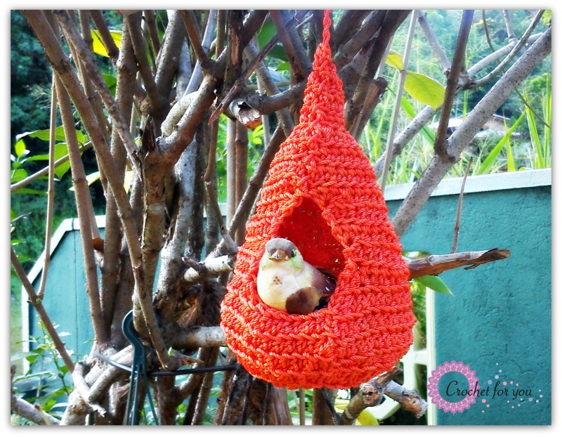 Amigurumi Bird Nest : Crochet for you free patterns and tutorials crochet for you